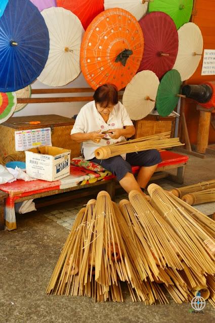 robienie parasolki tajskiej