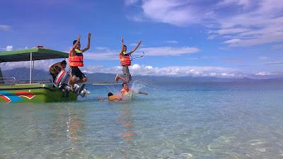 Melihat Bawah Laut Pulau Paserang