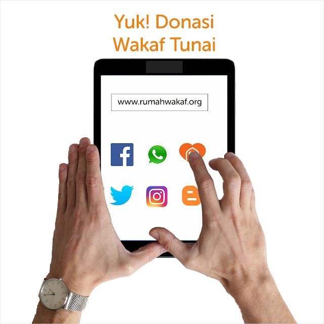 Wakaf Tunai, Wakaf Zaman Now