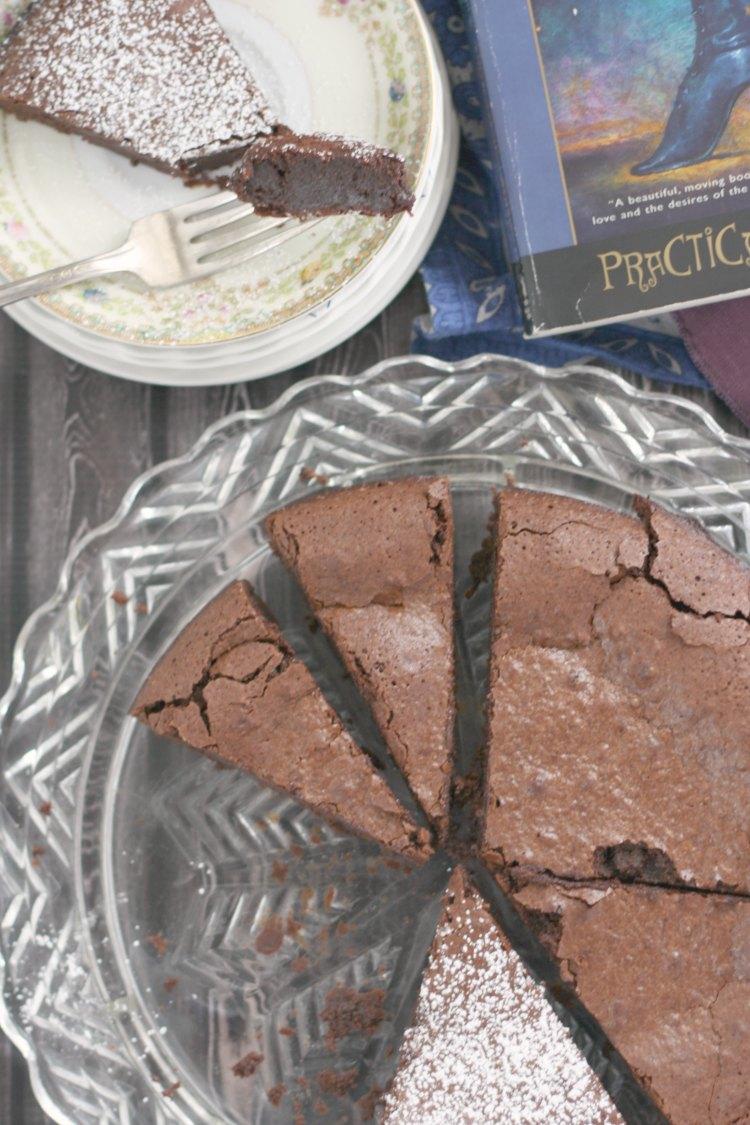 Flourless Chocolate Cake   Practical Magic