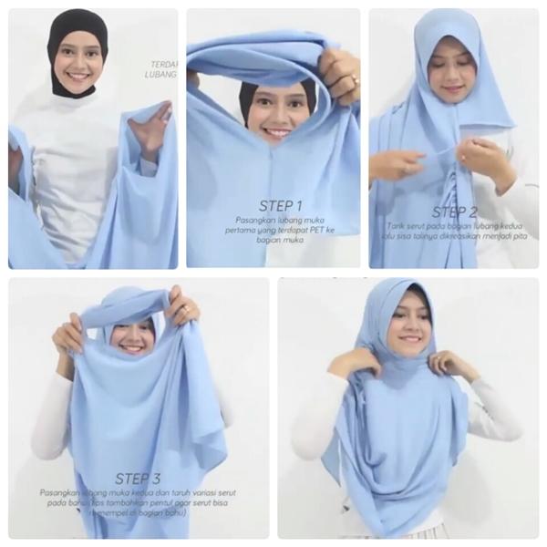 hijab tutorial pashmina terbaru style 3