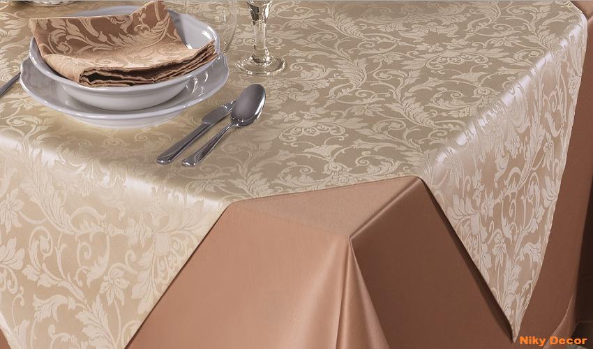 Fete de masa Restaurant Hotel-Lenjerii de pat damasc-Lenjerii bumbac satinat