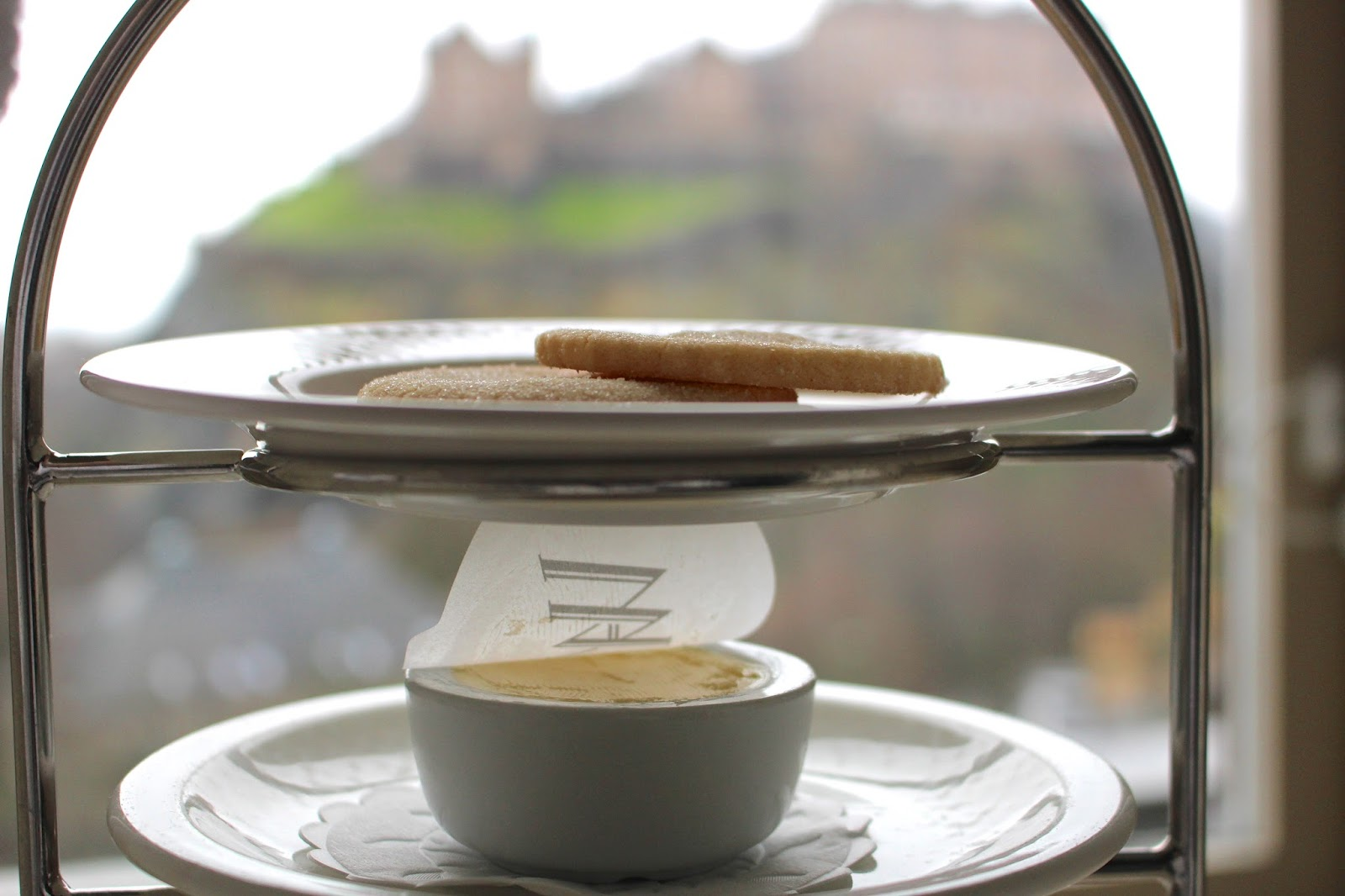 breakfast at luxury scottish hotel