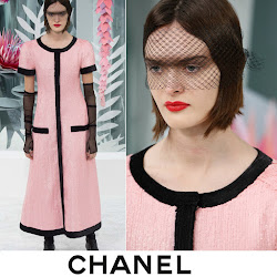 Charlotte Casiraghi Style CHANEL Spring 2015 Couture CHANEL Leather Pumps