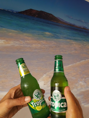Photo of Tropical beer (cerveza) from the Canary Islands