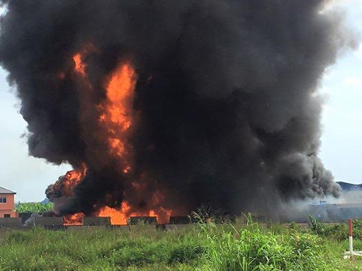 VERY SAD: Petrol tanker explodes on Lagos-Ibadan expressway, four confirmed dead