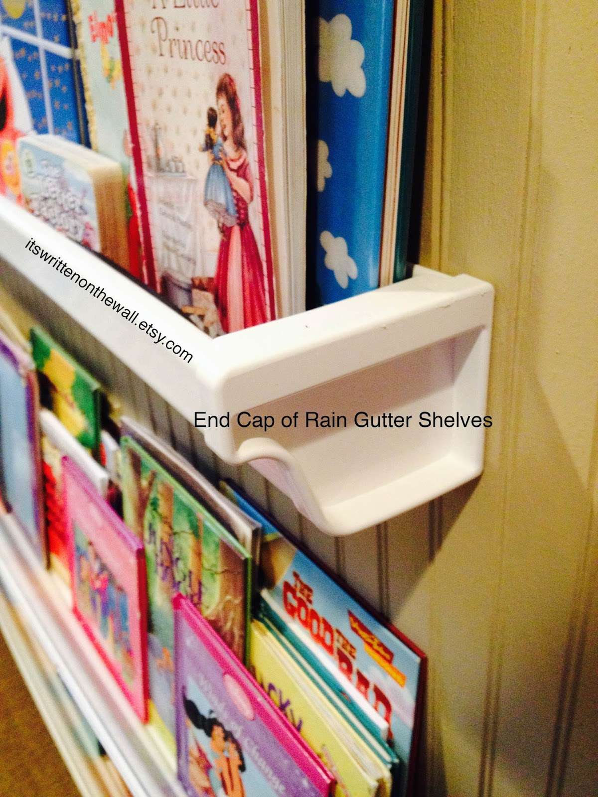 Tutorial What Are Rain Gutter Book Shelves Actual Gutters Make Up A Library For The Kids