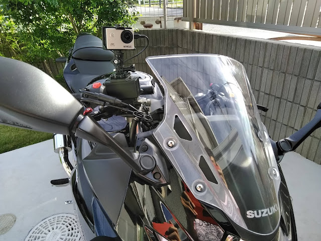 GSX250R アクションカメラの画像
