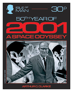 50 Years of 2001: A Space Odyssey - Stamp Collection