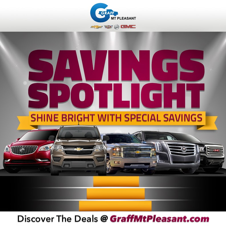 Savings Spotlight at Graff Mt. Pleasant