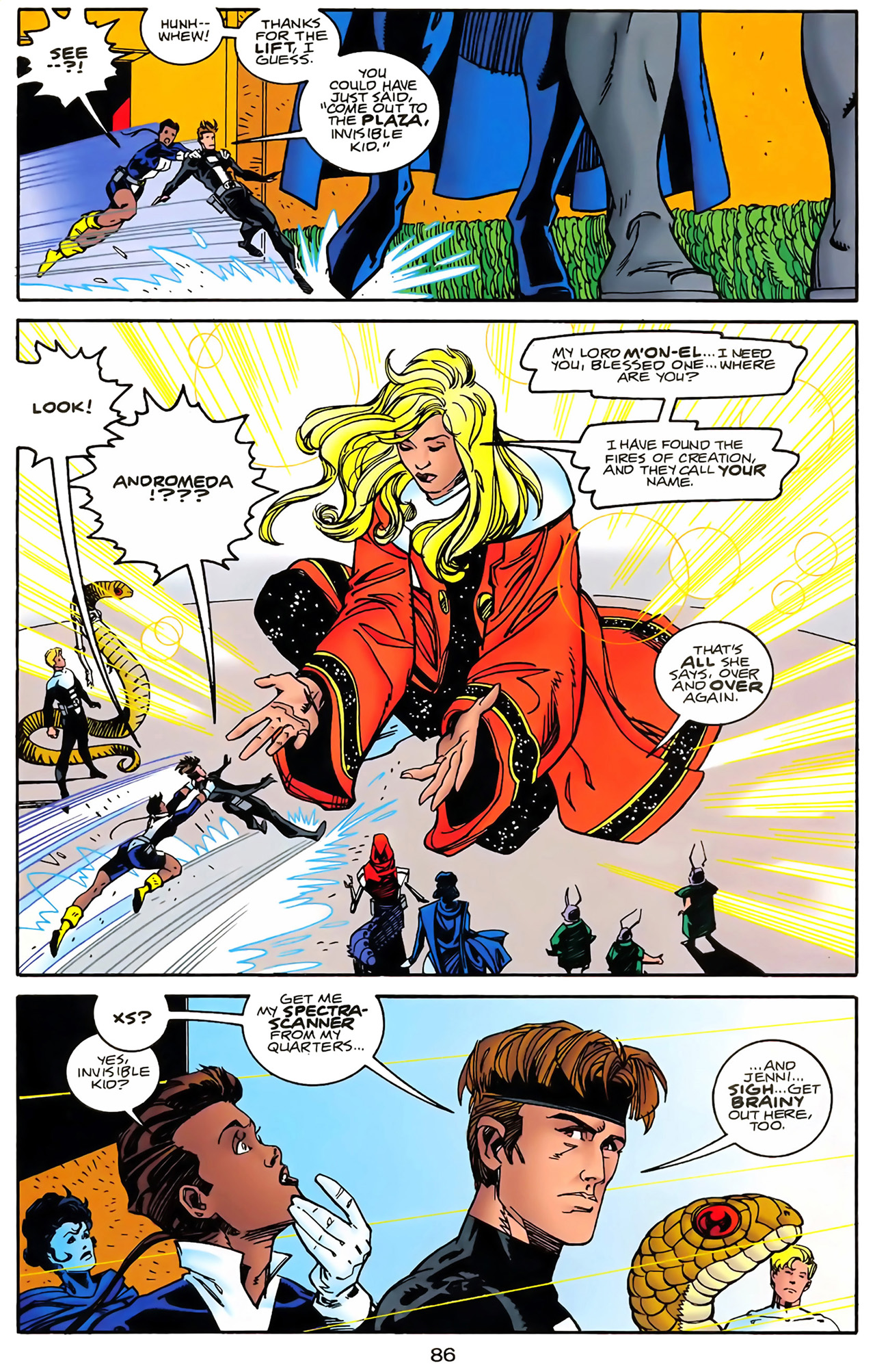 Legion of Super-Heroes (1989) 100 Page 78
