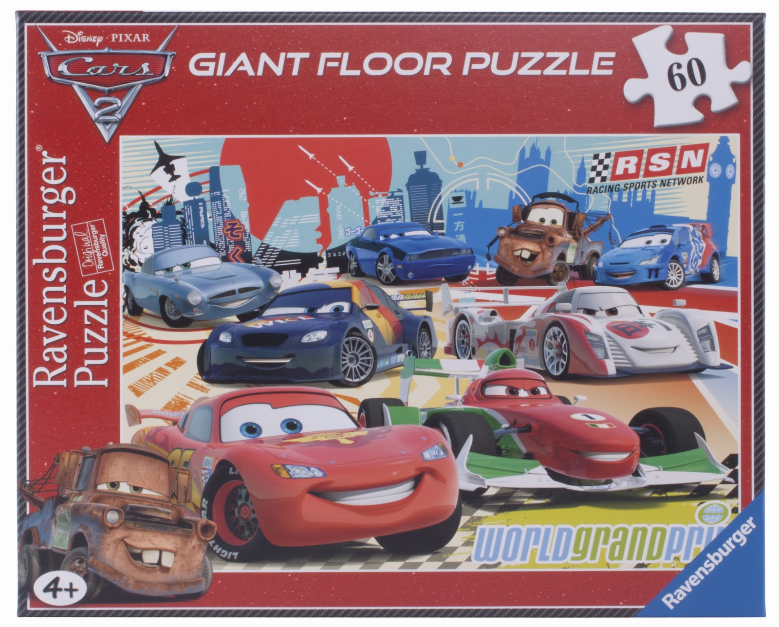ca5341ee0f6 He was of course delighted to open the parcel and see the Disney Cars 2  puzzle. He & his sister soon had the puzzle together. They worked together  and there ...