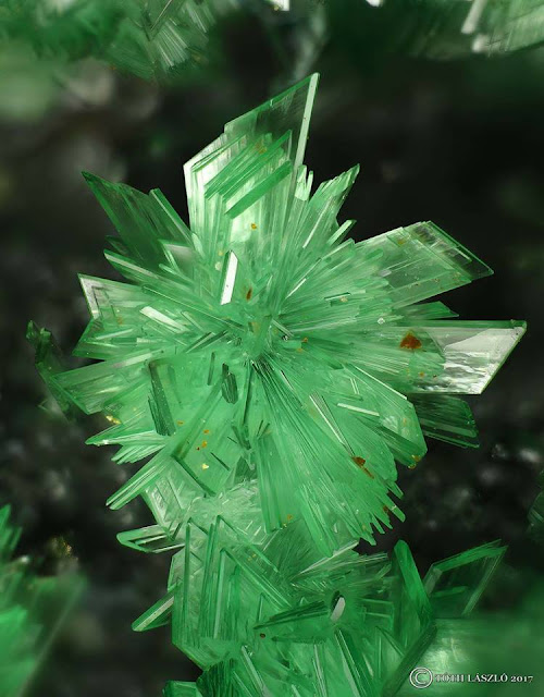 Radial Annabergite Crystals From Greece