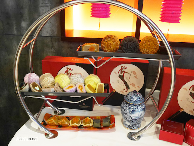 Indulge in all 14 types of mooncakes at Renaissance Kuala Lumpur
