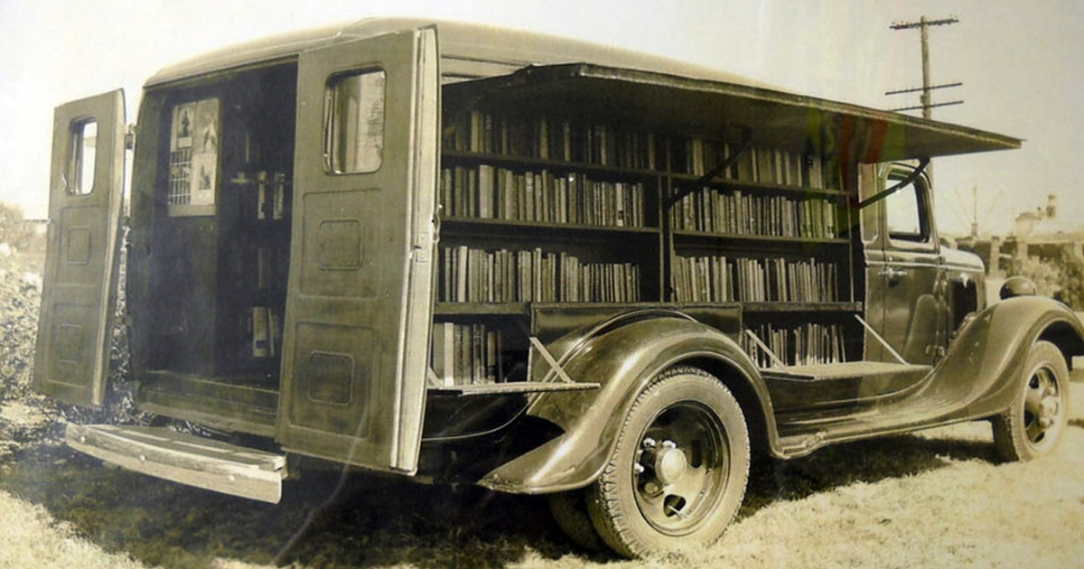Before Amazon, We Had Bookmobiles 15+ Rare Photos Of Libraries-On-Wheels