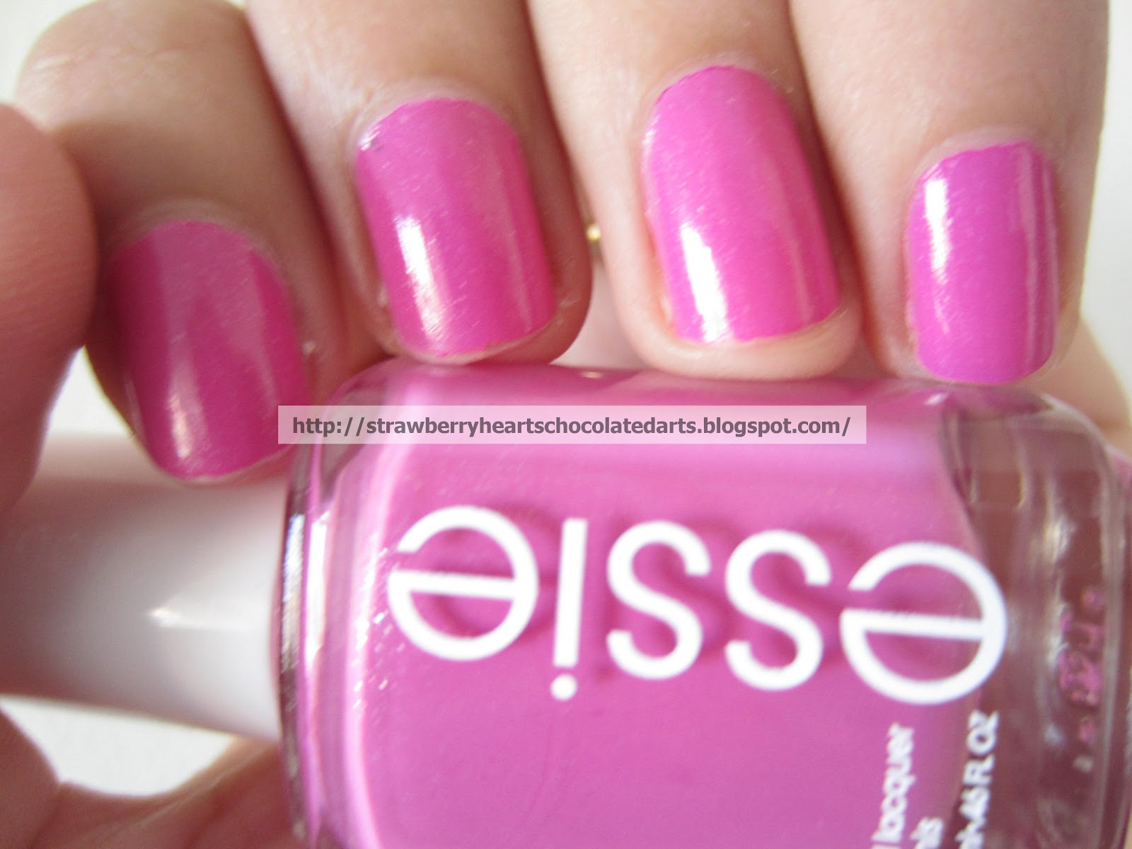 Strawberry Hearts Chocolate Darts Essie Nail Polish In Madison Ave Hue Essie Spring 2013
