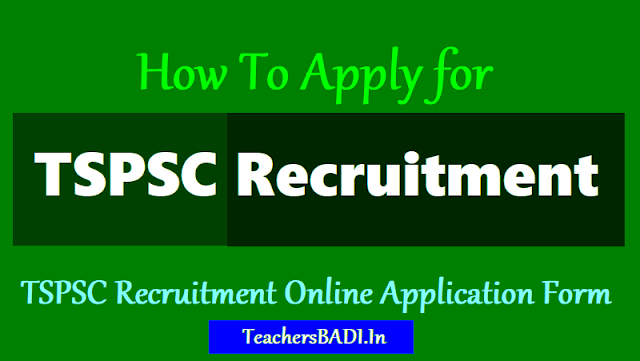 application fee for tspsc recruitment,last date to apply for tspsc recruitment,how to apply for tspsc recruitment,online applying procedure for tspsc recruitment, how to upload tspsc application form.