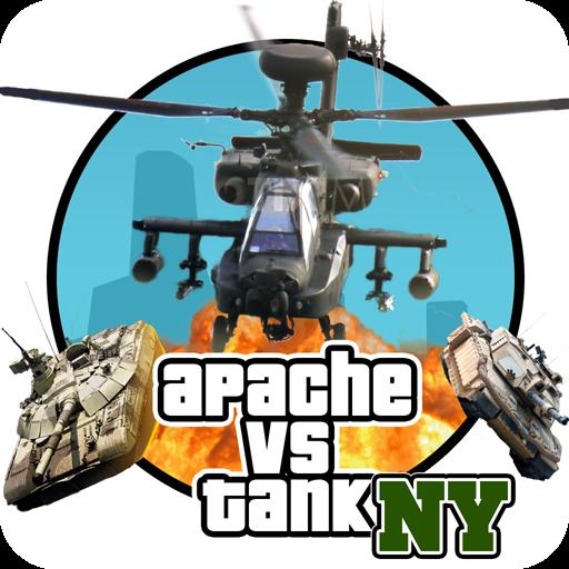 تحميل لعبة  GTA Apache vs Tank in New York لهواتف الاندرويد مجاناَ