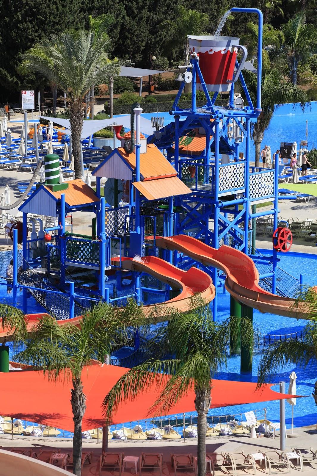 Kids Have Fun In Cyprus Fassouri Waterpark Limassol