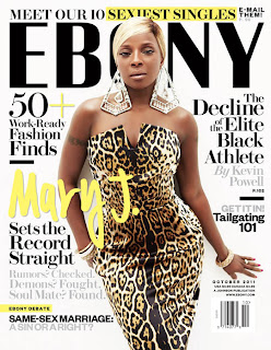 Mary J Blige On The Cover Of EBONY October 2011 Issue 1