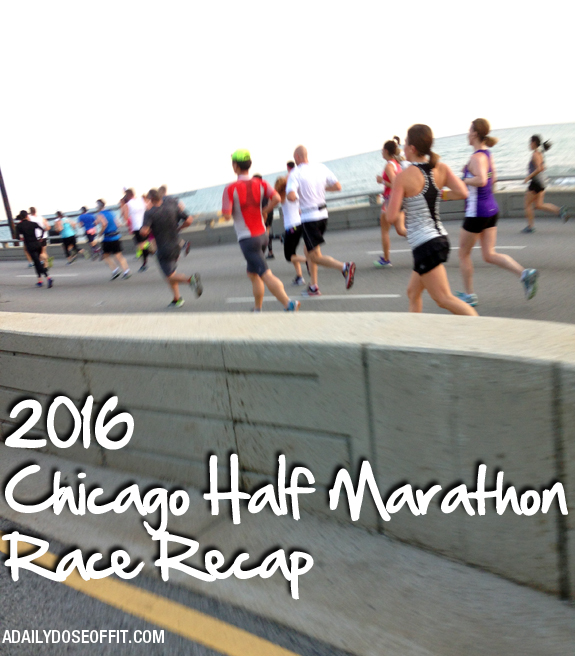 running in Chicago, half marathons