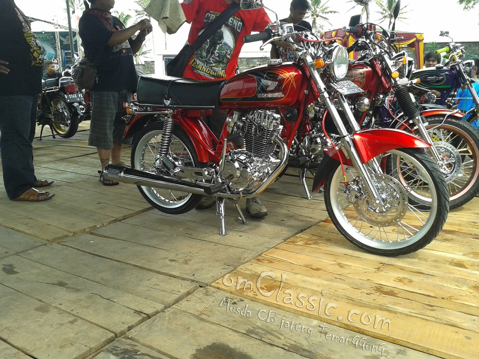 Kumpulan Galeri Modifikasi Motor Cb Modifikasimania