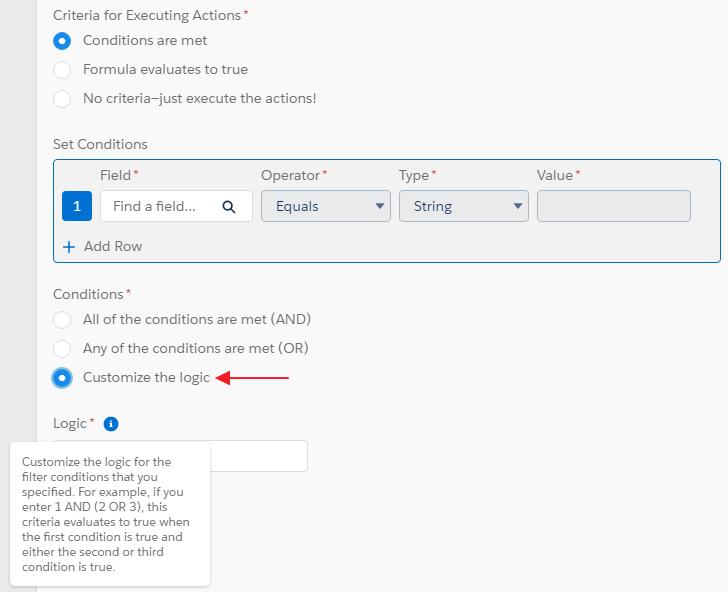 SimplySfdc com: Salesforce: Update Records criteria in