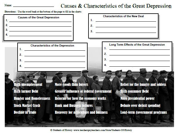 Students of History Causes and Characteristics of the Great