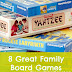 8 Great Family Board Games