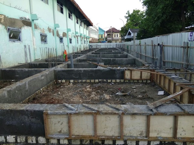 Update Pembangunan Asrama Santri Putri (7-12-2016)