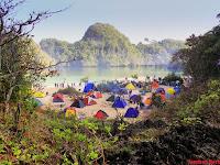 Wisata Pulau Sempu Dimalang, Keindahan pantai dalam pulau yang memikat
