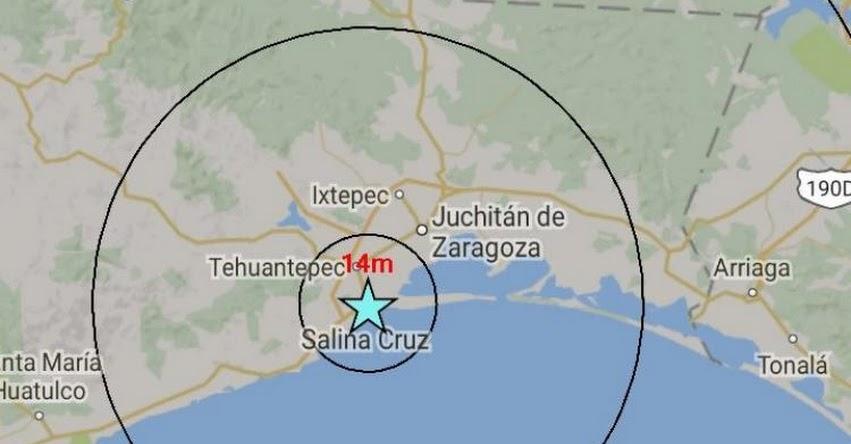 TEMBLOR EN MÉXICO: Sismo de Magnitud 4.1 (Hoy Miércoles 20 Setiembre 2017) Sismo Epicentro San Andrés Paxtlán - Oaxaca- USGS - SSN