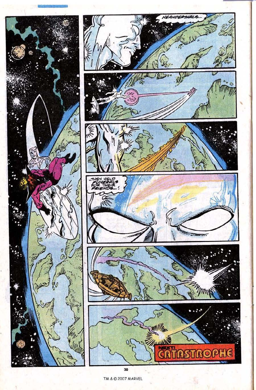 Read online Silver Surfer (1987) comic -  Issue #28 - 32