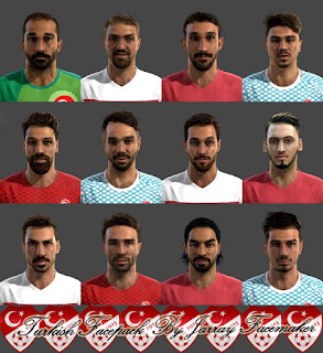 Turkish Facepack 2016 Pes 2013 By Jarray