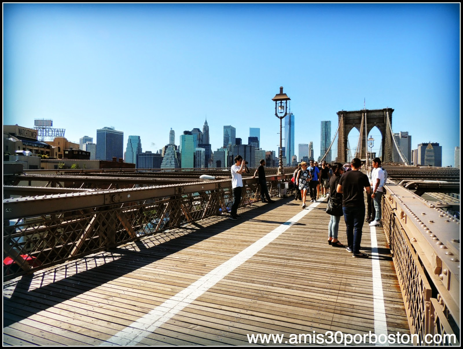 Segunda Visita a Nueva York: Brooklyn Bridge