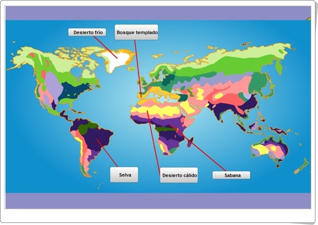 """""""Ecosistemas del mundo"""" (Ciencias Naturales de Primaria). Editorial S.M."""
