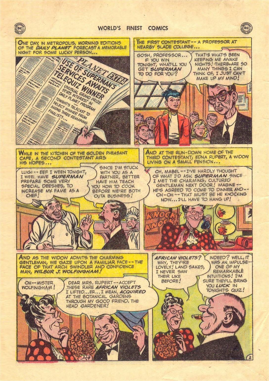 Read online World's Finest Comics comic -  Issue #52 - 4