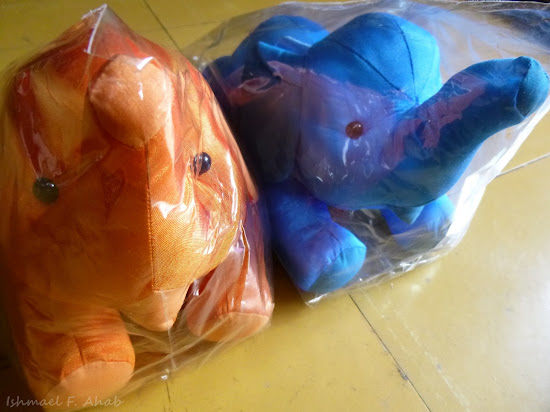 Toy elephants from Mahboonkrong