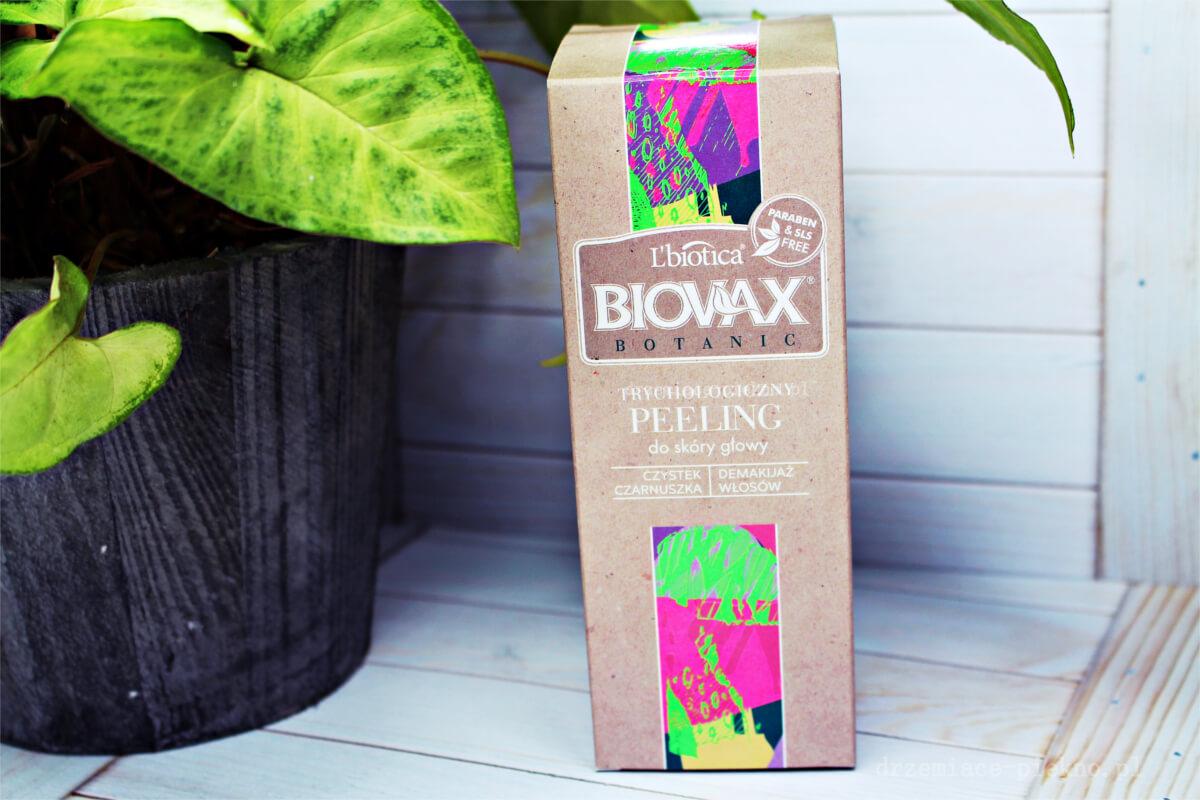 L'biotica, Biovax, Botanic, Trychologiczny peeling Czystek i czarnuszka