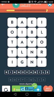 WordBrain 2 soluzioni: Categoria Riciclaggio (4X5) Livello 3