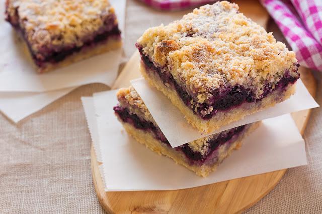 Prhki kolač sa borovnicama