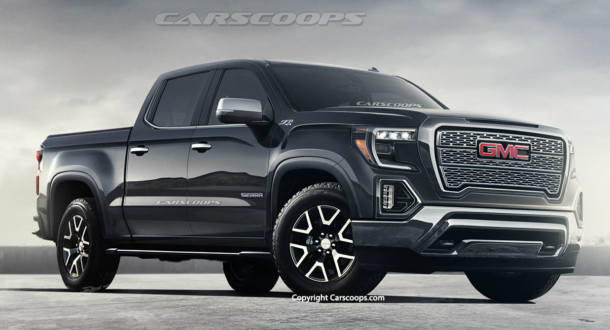 Daddy's here: 2019 GMC Sierra rendering released ...