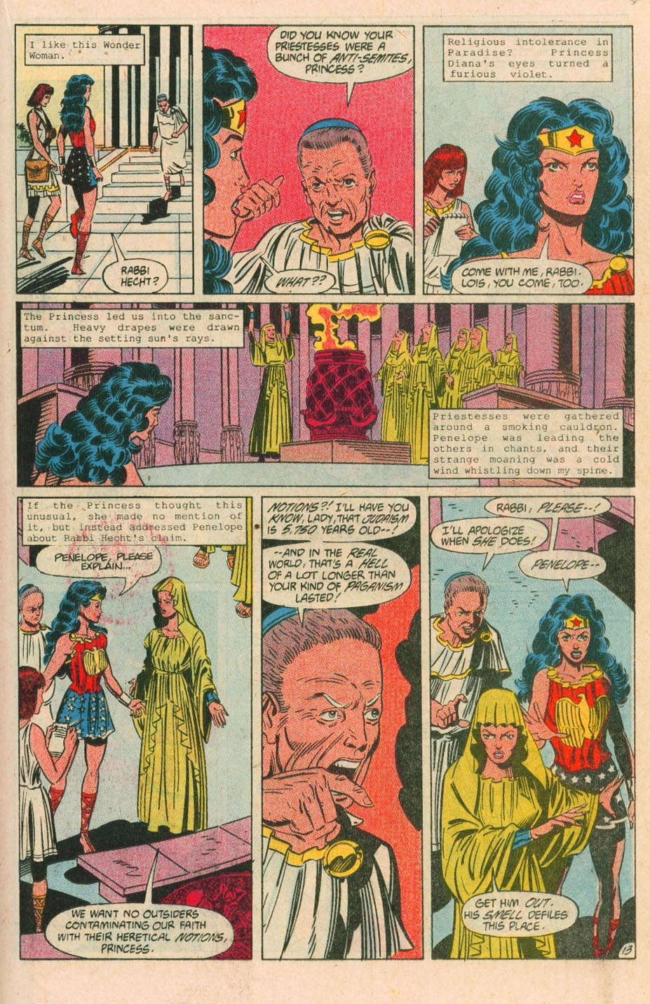 Read online Wonder Woman (1987) comic -  Issue #38 - 14