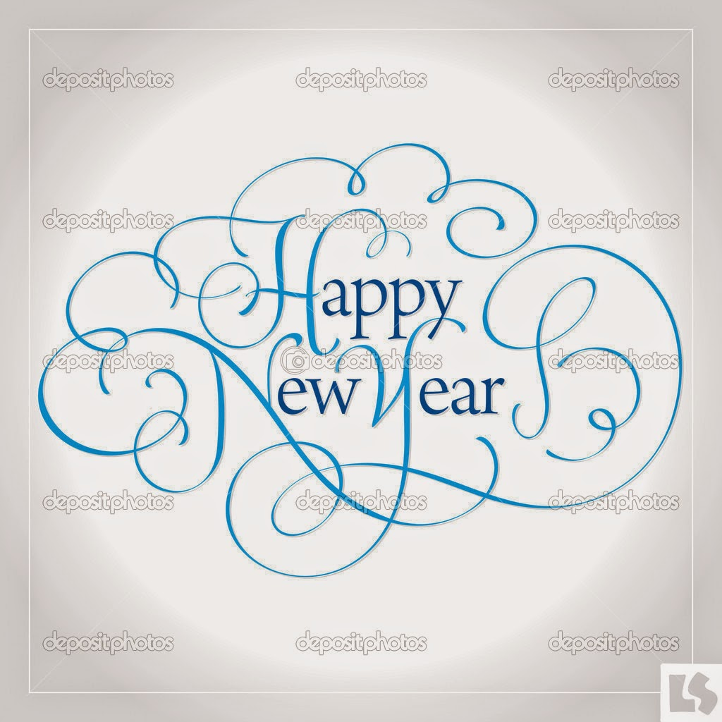 Happy New Year 2016 Vector Clip Art Images for Google Plus