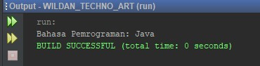 Contoh Modifier Private pada Java