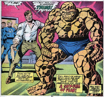 Fantastic Four 169 Five Characters In Search of Madman