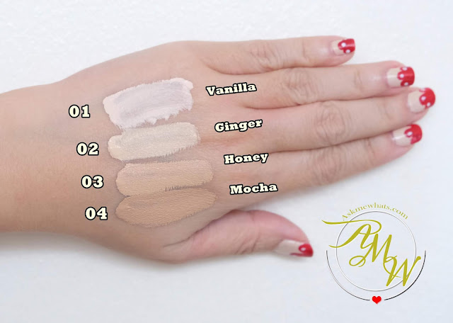 a swatch photo of Althea Flawless Creamy Concealer review by Nikki Tiu of askmewhats.com