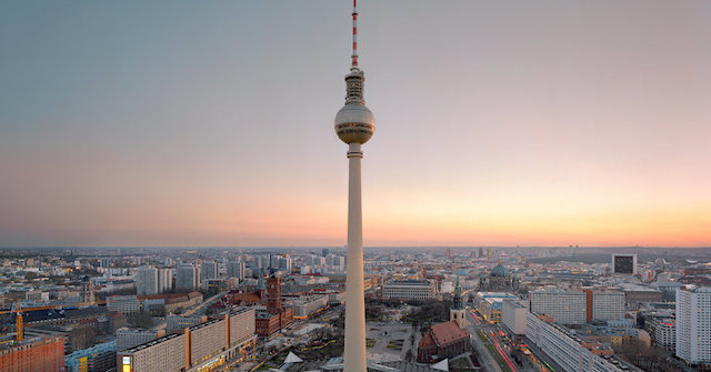 Torre Fernsehturm em Berlim