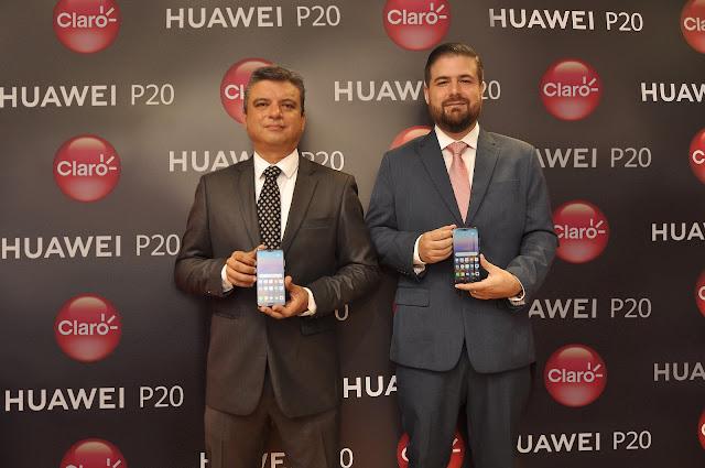 CLARO y HUAWEI presentan HUAWEI P20 Y P20 LITE con grandes avances en arte y tecnología que redefinen la fotografía inteligente