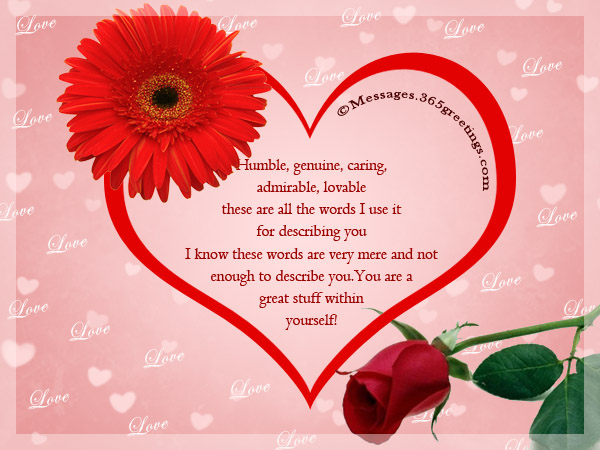 Dating romantic messages